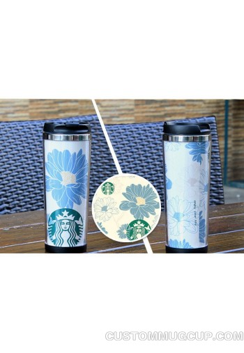 Wholesale! Starbucks style double wall travel tumbler stainless steel mug