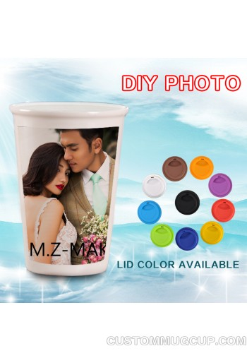 14oz personalized magic mug online Color Changing Coffee Mug heat sensitive travel mugs wholesale