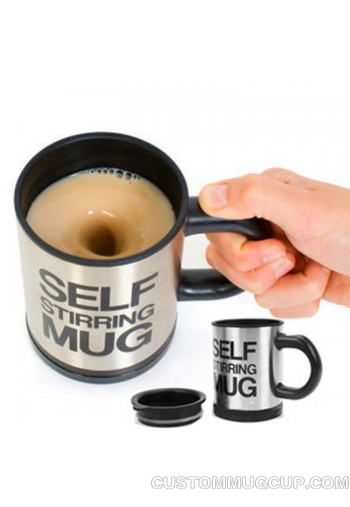 Automatic Electric Self Stirring Mug Coffee Mixing Drinking Cup Stainless Steel mug 350ml