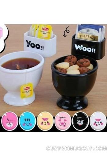 Creative Toilet Bowl Mug Plastic Cuty Cup For Ice Cream Coffee
