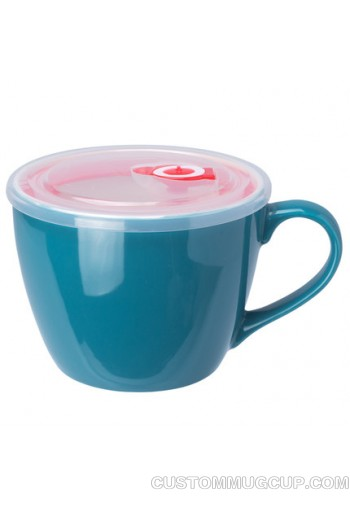 dark blue-soup mug