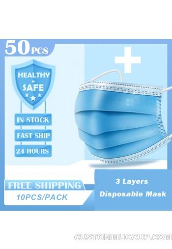 50PCS Disposable mask