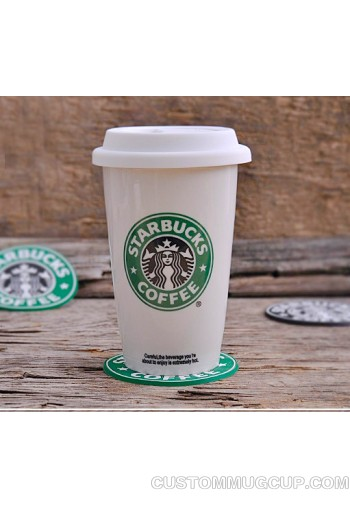 High Quality Ceramic Mug Coffee Starbucks Cupugs With Cover Lid