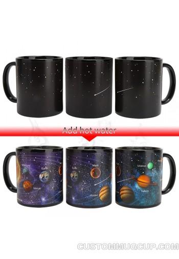 Starry Solar System Mug Magic Coffee
