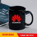 11oz  black coffee mugs,customized black mugs with custom logo