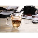 16oz/480ml starbucks coffee mug , starbucks coffee cup ,starbucks glass cup ,double wall glass mug