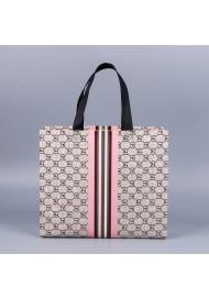 Durable Non-woven Laser Tote Bag Shopping Bag Gift Bag, Reusable Grocery Shopping Bag