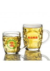 300ml-500ml Wholesale Personalized Beer Mugs Printed with Your Custom Logo