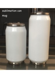 DIY photo cup double stainless steel vacuum insulation Cup cola can cup sublimation