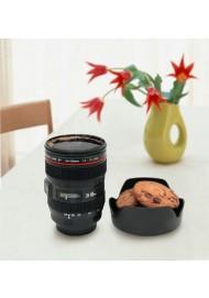Caniam SLR Camera Lens Mugs,Plastic Coffee Mug, 400ML Lens Cups