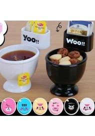 Creative toilet bowl mug plastic cuty cup for ice cream coffee mug