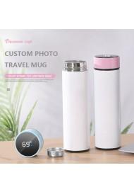 350ML/500ML Sublimation Photo Vacuum Cup Custom Stainless Steel Travel Mug DIY Photo Mug Double Wall