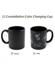Color Changing 12 Star Constellation Magic Cup Coffee Mug Heat Activated mug