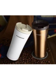 Autoseal  Stainless Steel Travel Mug Vacuum flask  mug with Easy Clean Lid 500ML