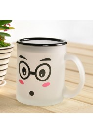 Frosted Glass Coffee Mug