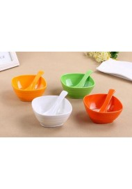 Candy Colorful Food Grade Melamine Salad Dessert Bowl Mixing Egg Stirring Bowls Pasta Rice Bowl Kitchen