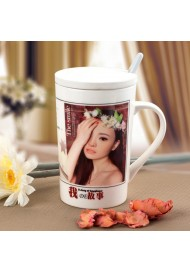 Personalized Photo Mug Ceramic Coffee Mug  Customized Logo No Minimum Big Size 420ML & 580ML