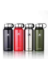 Custom mug Insulated Stainless Steel Water Bottle  - 20 Oz, Wide Mouth, BPA Free