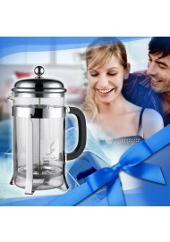 French Coffee Press glass tea press for 600 ml 800 ml 1000 ml