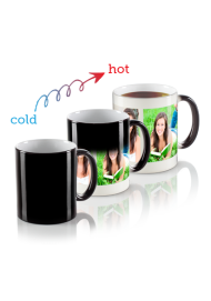 11oz Personalized Magic Mug, Custom Magic Photo Mug, Color Changing Mug