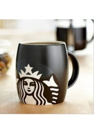 400ml Ceramic Starbucks Mugs with laser engraving design,engraved ceramic mugs