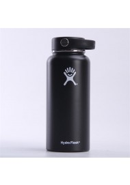 Custom Hydro Flask Double Wall Vacuum Insulated Stainless Steel Leak Proof Sports Water Bottle, Wide Mouth with BPA Free Flex Cap Multiple Sizes & Colors