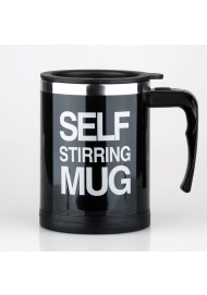 Self Stirring Coffee Mug- Electric Stainless Steel Automatic Self Mixing Cup and Mug 400ML