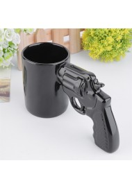 Creative Novelty Ceramic Pistol Cups Mugs with Gun Handle Grip Cup Ceramic Mug coffee tea cup