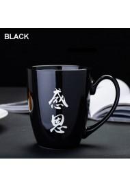Engraving Logo Custom Design Ceramic Coffee Mug Color Glaze Engrave Mug Personalized Add Your Custom Text