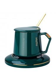 Laser Engraving Ceramic Cup and Saucer Set Custom Logo Coffee Cup Text Design No Minimum Quantity