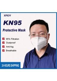 Fast Delivery KN95 Masks Breathable Protective Face Masks Safety Anti Fog Dustproof Masks 95% Filtration Mouth Masks