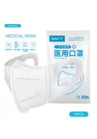 Disposable Medical 3D Masks Earloop Face Breathable Masks 3 Layers Dustproof Safety Anti Facial Mask Non-woven Pm2.5 Mouth Mask