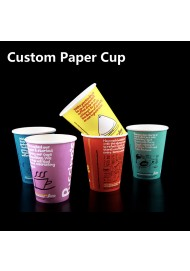 4oz-20oz customized disposable paper cups,personalized ripple paper cup