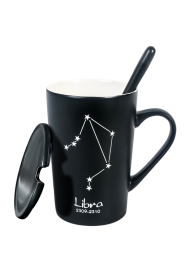 Personalized  Gift, Customized Constellation Coffee Mug - FREE Laser Engraving | 12 Constellation Design