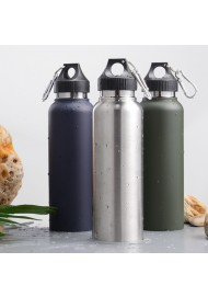Double Wall Stainless Steel Insulation Cup Portable Sports Water Cup Outdoor Vehicle Travel Pot Water Flask