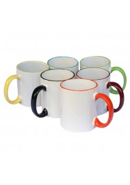 Color Edge Mugs