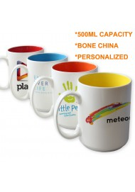 16oz Color Bone Personalized  Mug