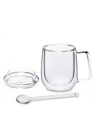 mug + lid + spoon