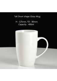14oz Drum shape mug