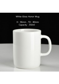 White honor mug