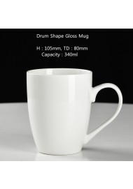 Drum shape mug