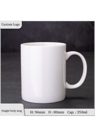 Straight body mug