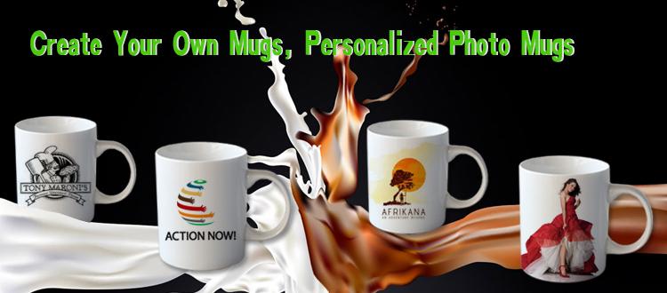 11oz standard customized  photo mugs