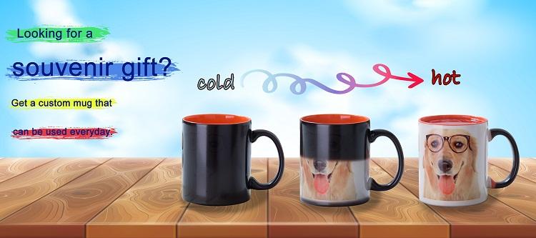 Custom Photo Color Change Mug