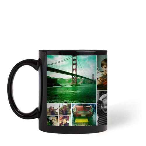 photo mug black