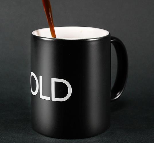 ON OFF Color Changing Mug