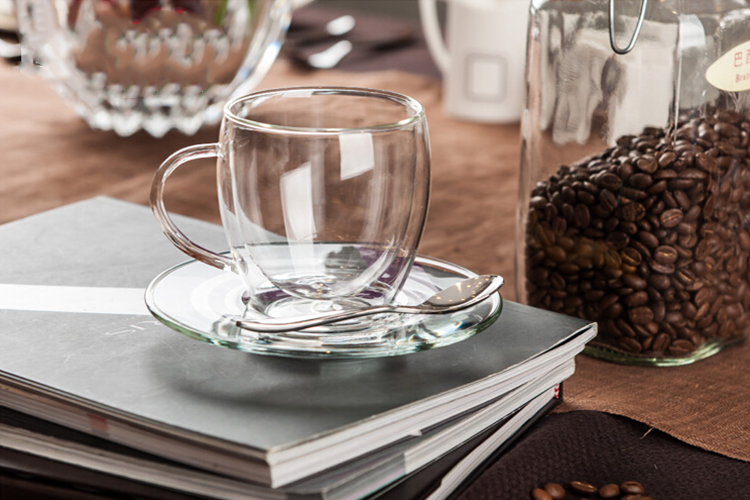glass coffee set