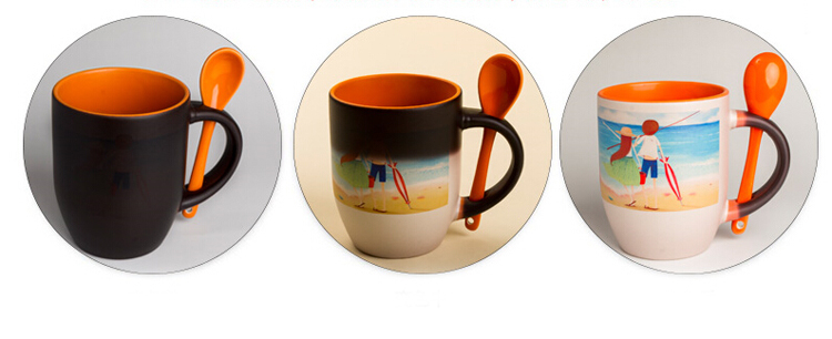 Fabulous Custom mugs and Personalized mugs 11oz two tone color Personalized  PR73