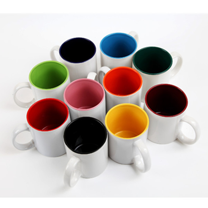 sublimation mug color glaze