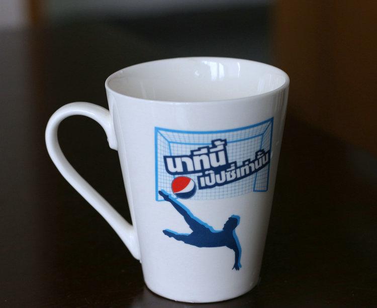 """11oz """"V"""" shape mug"""
